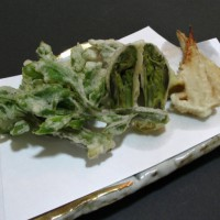 山菜天婦羅のレシピ