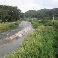 笙の川鮎釣り